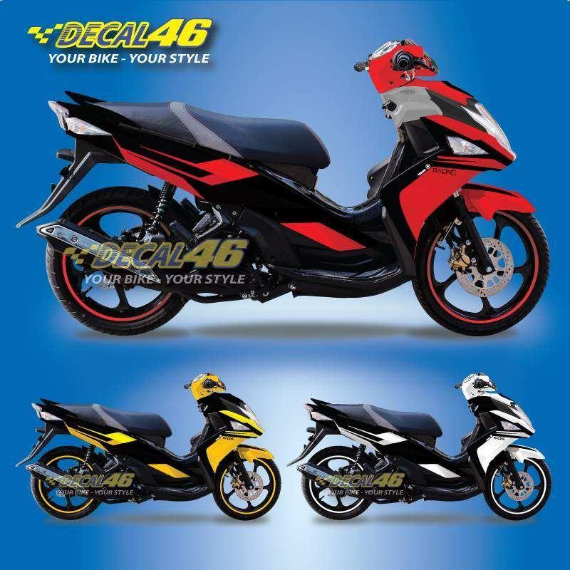 Tem xe Yamaha Nouvo - Tem xe concept Racing