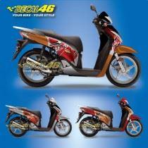 Tem xe Honda SH 150 Italia – Tem xe concept Repsol 2