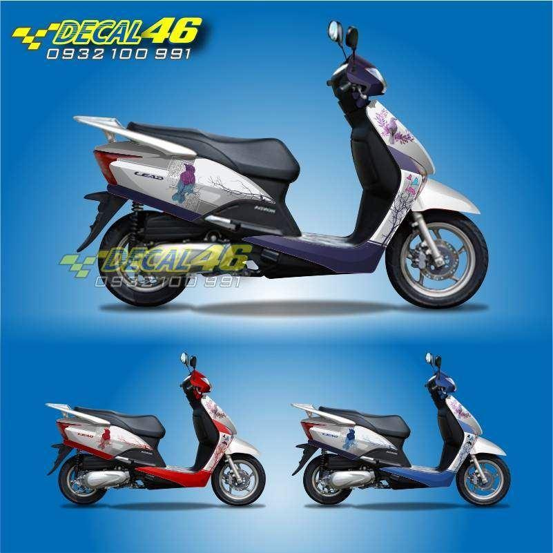 Tem xe Honda Lead - 006 - Tem xe concept Bird
