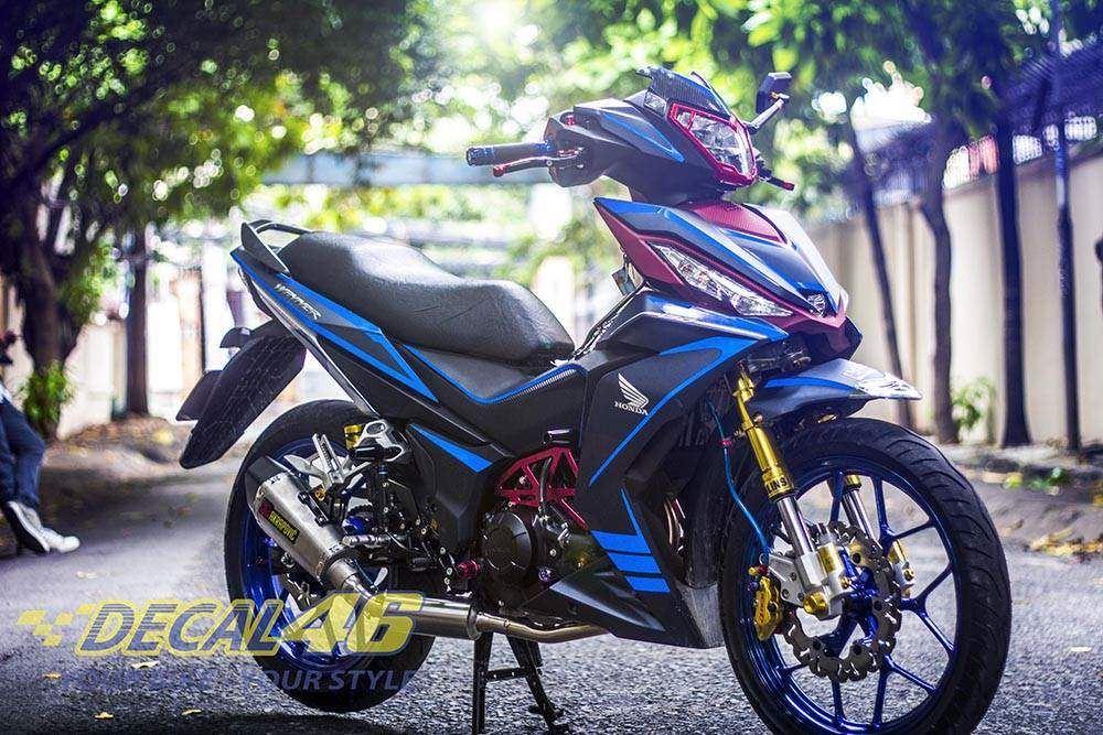 Tem xe Winner 150 - 025 - Tem xe concept Phản Quang