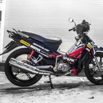Tem xe Yamaha Sirius - 029 - Tem xe concept Yamaha GP