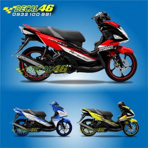 Tem xe Yamaha Nouvo - Tem xe concept Semakin