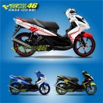 Tem xe Yamaha Nouvo - Tem xe concept Flash