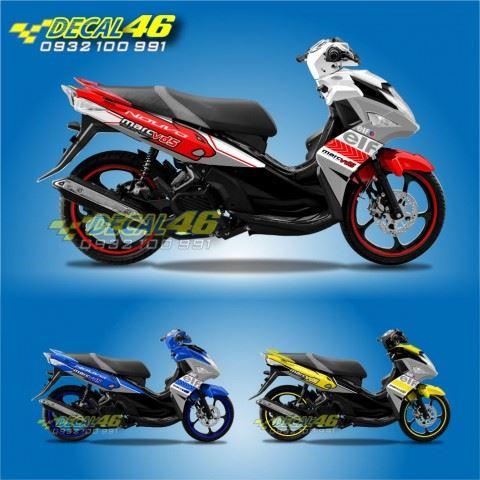 Tem xe Yamaha Nouvo - Tem xe concept Gold Racing