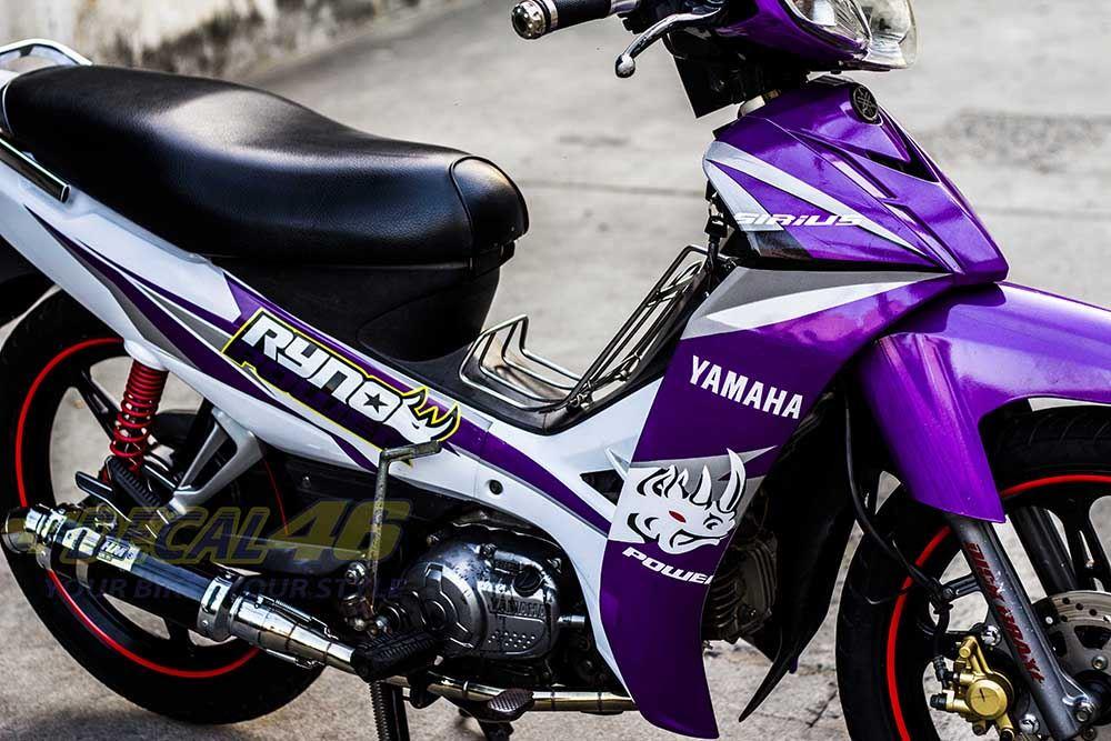 Tem xe Yamaha Sirius - 034 - Tem xe concept Ryno