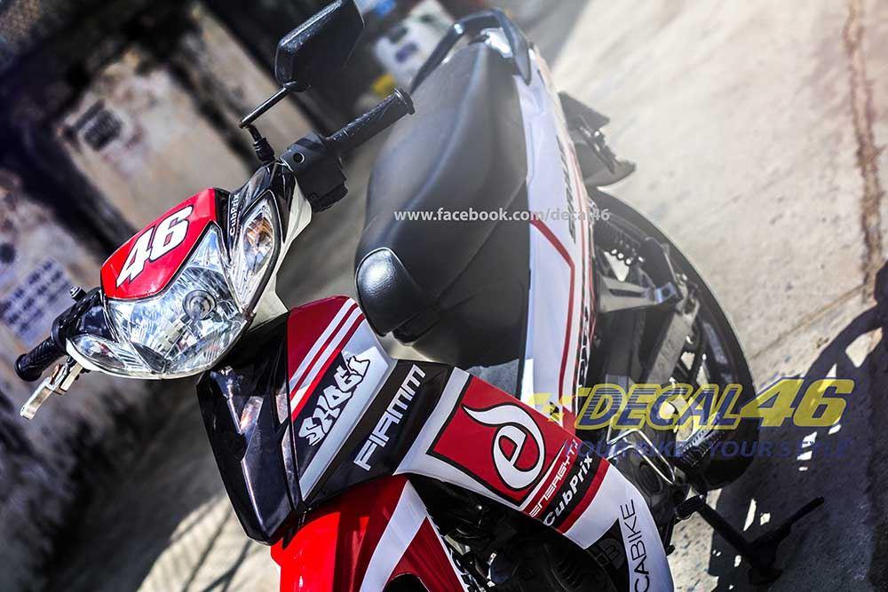Tem xe Yamaha Sirius - 053 - Tem xe concept Ducati