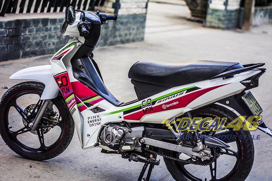Tem xe Yamaha Sirius - 049 - Tem xe concept Go & fun