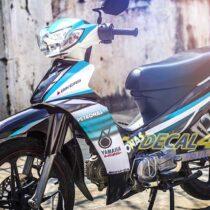 Tem xe Yamaha Sirius - 057 - Tem xe concept Petronas