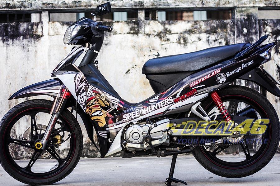 Tem xe Yamaha Sirius - 051 - Tem xe concept Speed hunter 2