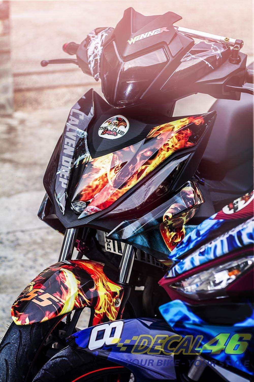 Tem xe Winner 150 - 045 - Tem xe concept Ghost rider