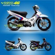Tem xe Yamaha Sirius - 090 - Tem xe concept Brembo trắng
