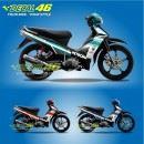 Tem xe Yamaha Sirius – 061 – Tem xe concept Petronas