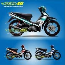 Tem xe Yamaha Sirius - 061 - Tem xe concept Petronas