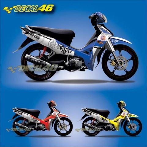 Tem xe Yamaha Sirius - 102 - Tem xe concept Tiger