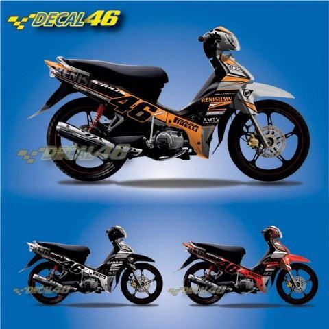 Tem xe Yamaha Sirius - 126 - Tem xe concept Renishaw