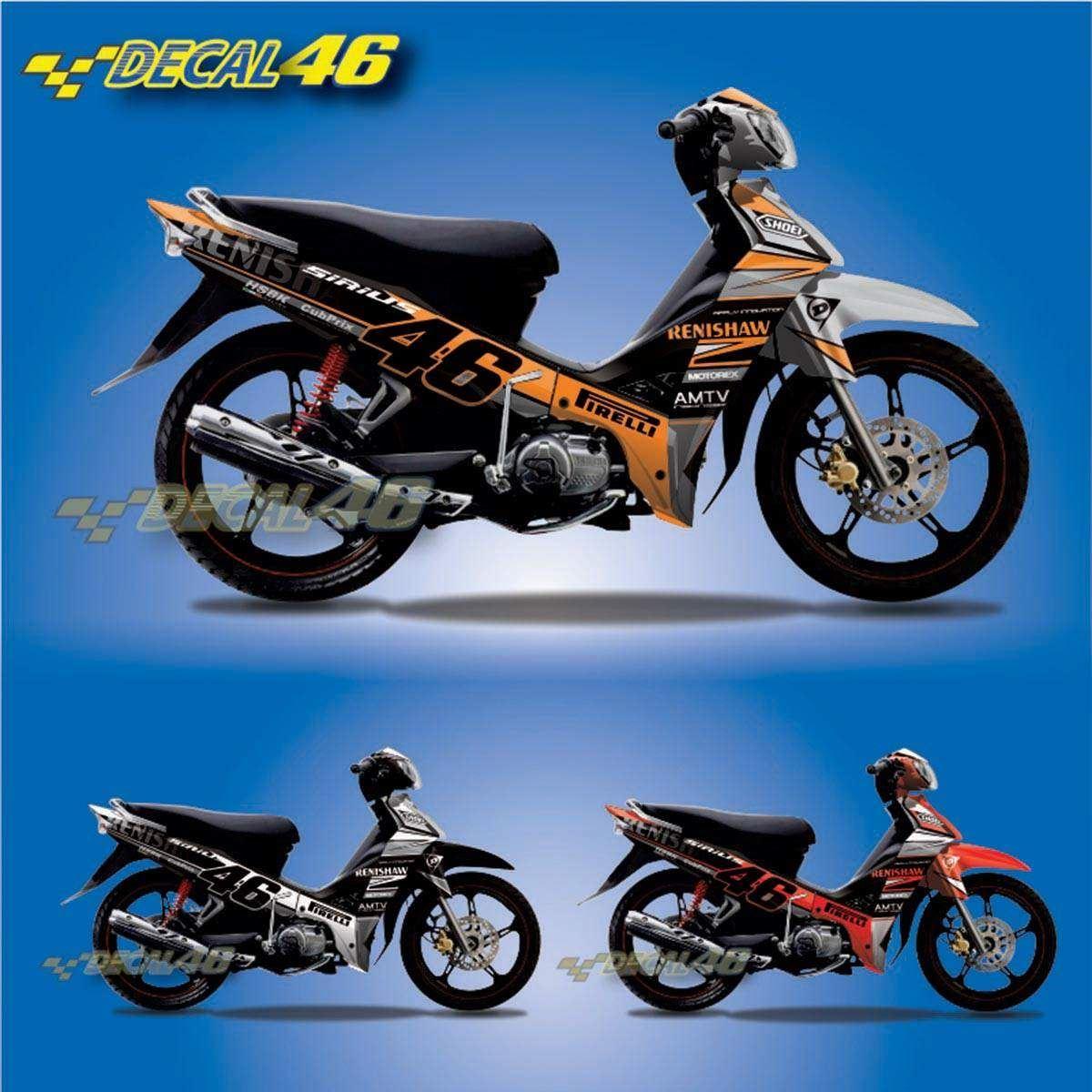Tem Xe Yamaha Sirius 126 Tem Xe Concept Renishaw