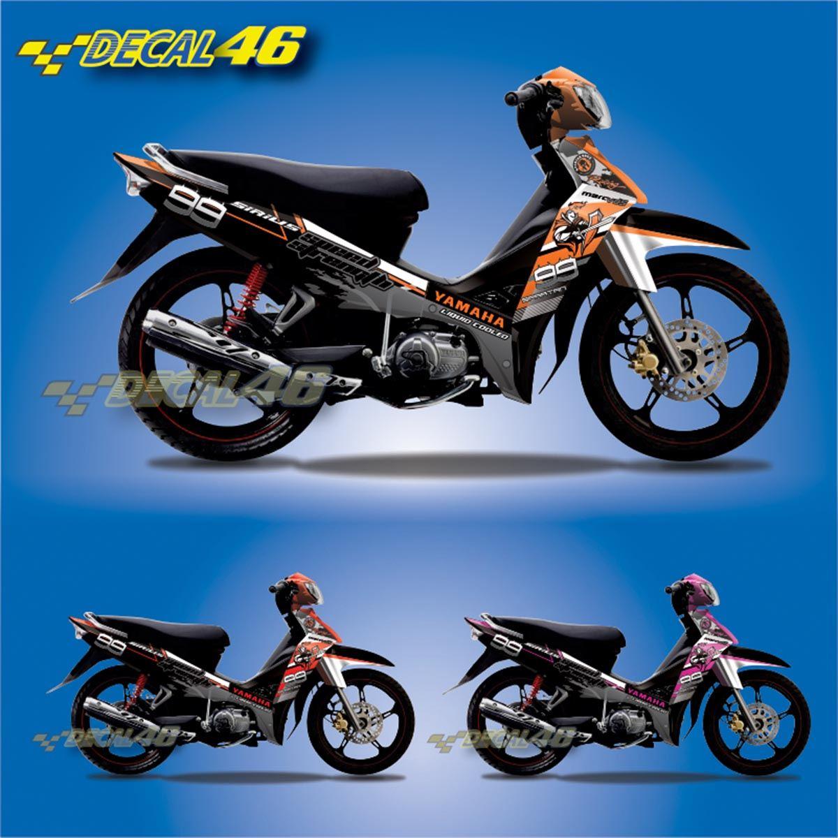 Tem xe Yamaha Sirius - 109 - Tem xe concept Speed Strength
