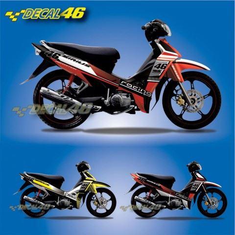 Tem xe Yamaha Sirius - 095 - Tem xe concept Racing