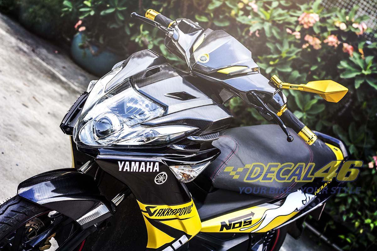 Tem xe Yamaha Nouvo - Tem xe concept Puma