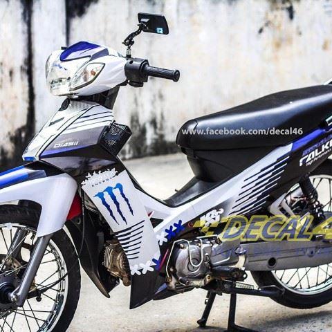 Tem xe Yamaha Sirius - 131 - Tem xe concept Falken