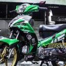 Tem xe Yamaha Sirius – 135 – Tem xe concept Green
