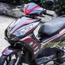 Tem xe Honda Airblade 125 – 011 – Tem xe thiết kế Carbon