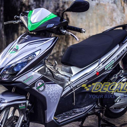 Tem xe Honda Airblade 125 - 014 - Tem xe concept Heineken