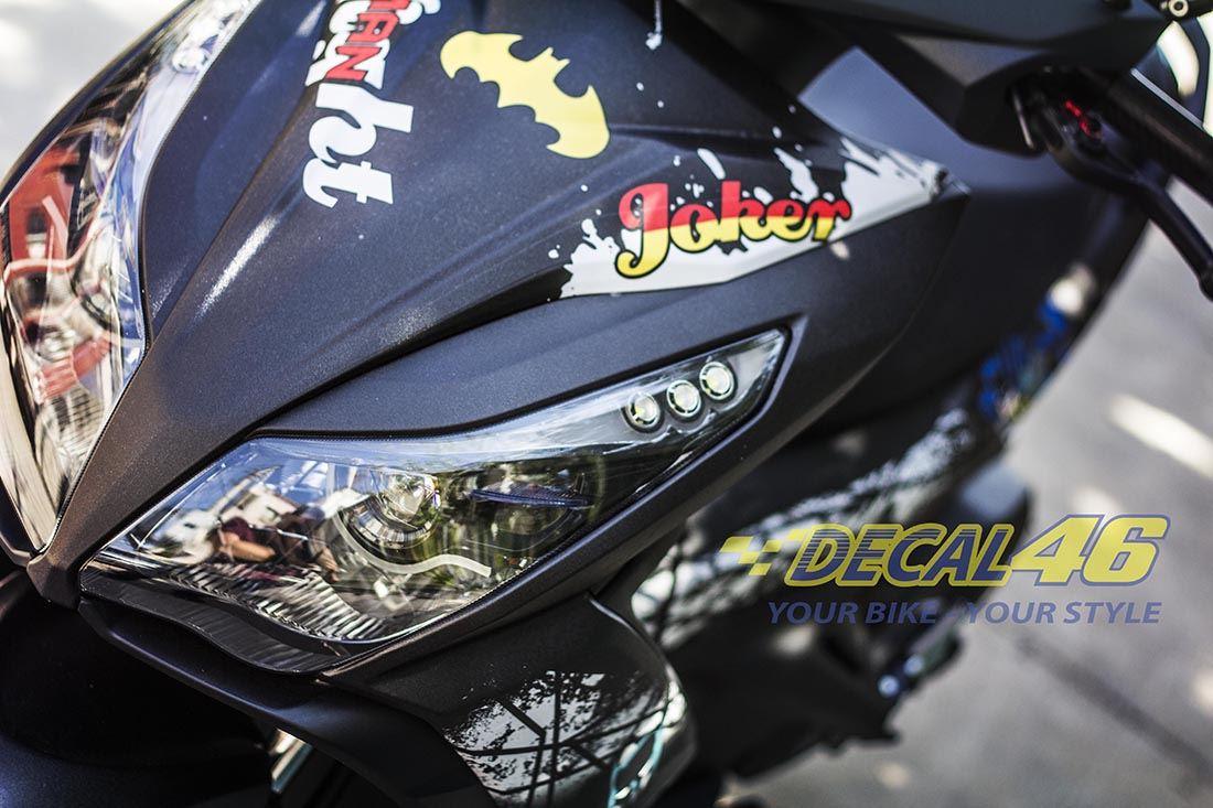 Tem xe Honda Airblade 125 - 015 - Tem xe concept Joker