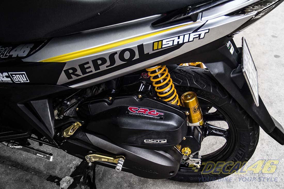 Tem xe Honda Airblade 125 - 026 - Tem xe concept Repsol