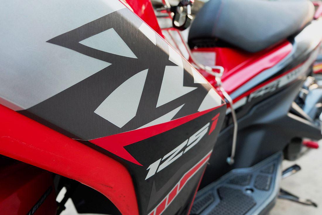 Tem xe Honda Airblade 125 - 028 - Tem xe concept Simple