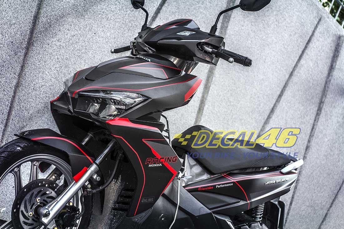 Tem xe Honda Airblade 2016 - 013 - Tem xe concept Racing
