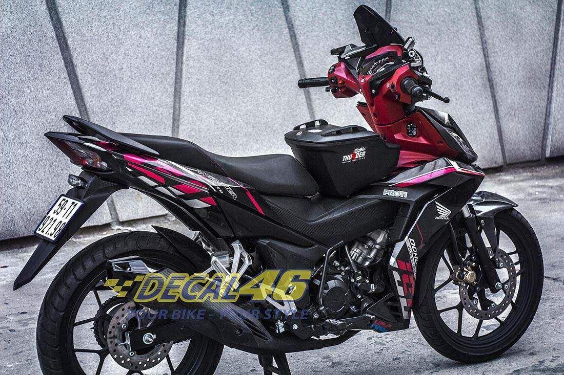 Tem xe Winner 150 - 089 - Tem xe concept Click Thái