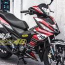 Tem xe Winner 150 – 091 – Tem xe thiết kế Ducati đỏ đen