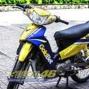 Tem xe Yamaha Sirius – 143 – Tem xe concept Gold bet vàng đen