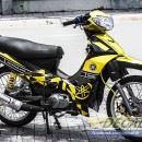 Tem xe Yamaha Sirius – 144 – Tem xe concept Kỉ niệm 60 năm vàng đen
