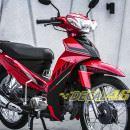Tem xe Yamaha Sirius – 145 – Tem xe concept Limited Edition đỏ đen