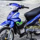 Tem xe Yamaha Sirius – 148 – Tem xe concept Movistar xanh đen