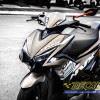 Tem xe NVX - 7 - Tem xe concept Yamaha Racing nâu đen