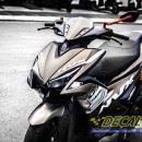 Tem xe NVX – 7 – Tem xe concept Yamaha Racing nâu đen