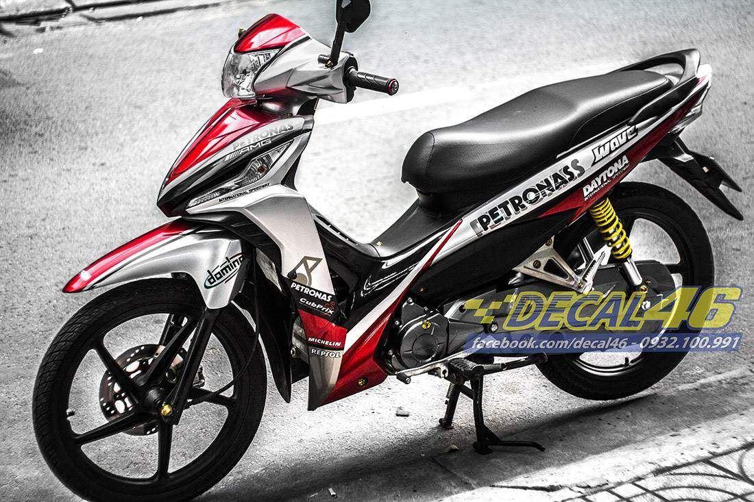 Tem xe Honda Wave - 013 - Tem xe concept Petronas