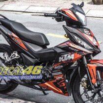 Tem xe Winner 150 - 117 - Tem xe concept KTM cam đen
