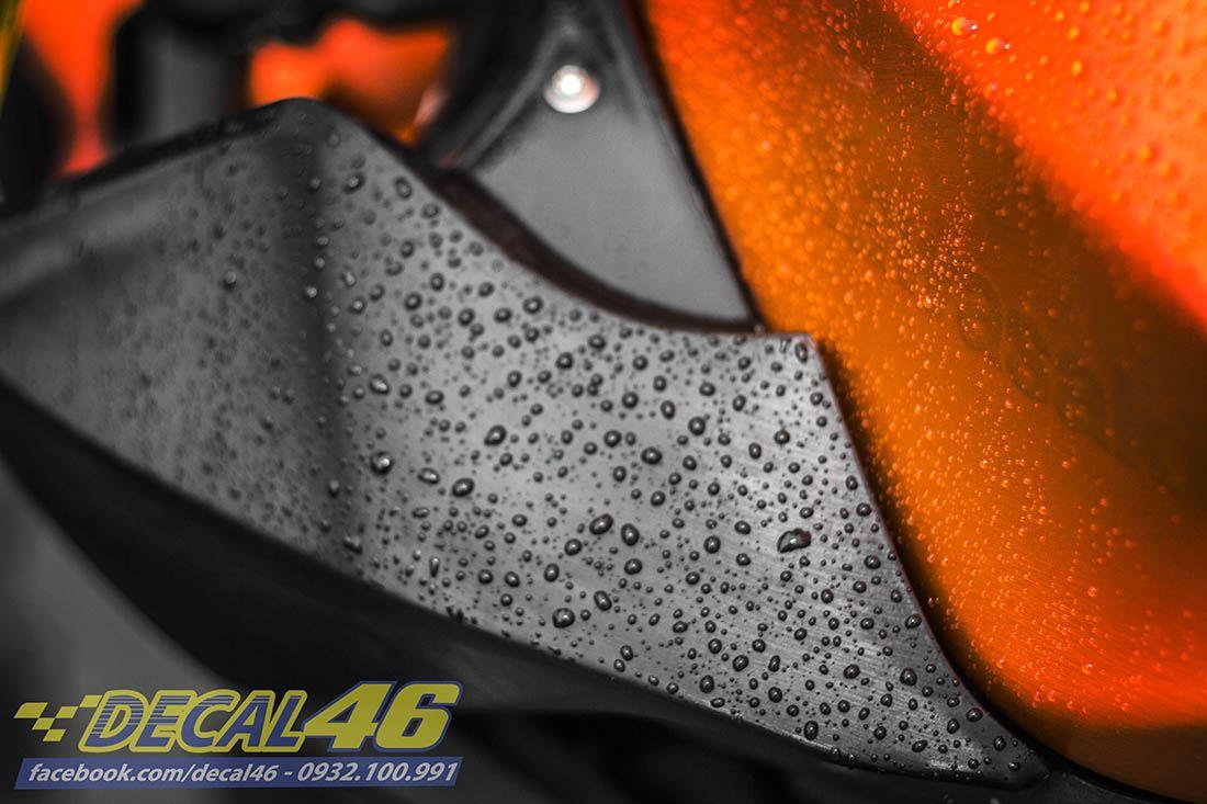 Tem xe PKL - Tem xe Z300 thiết kế Trống đồng cam