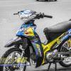 Tem xe Yamaha Sirius - 169 - Tem xe thiết kế Angrybird vàng đen