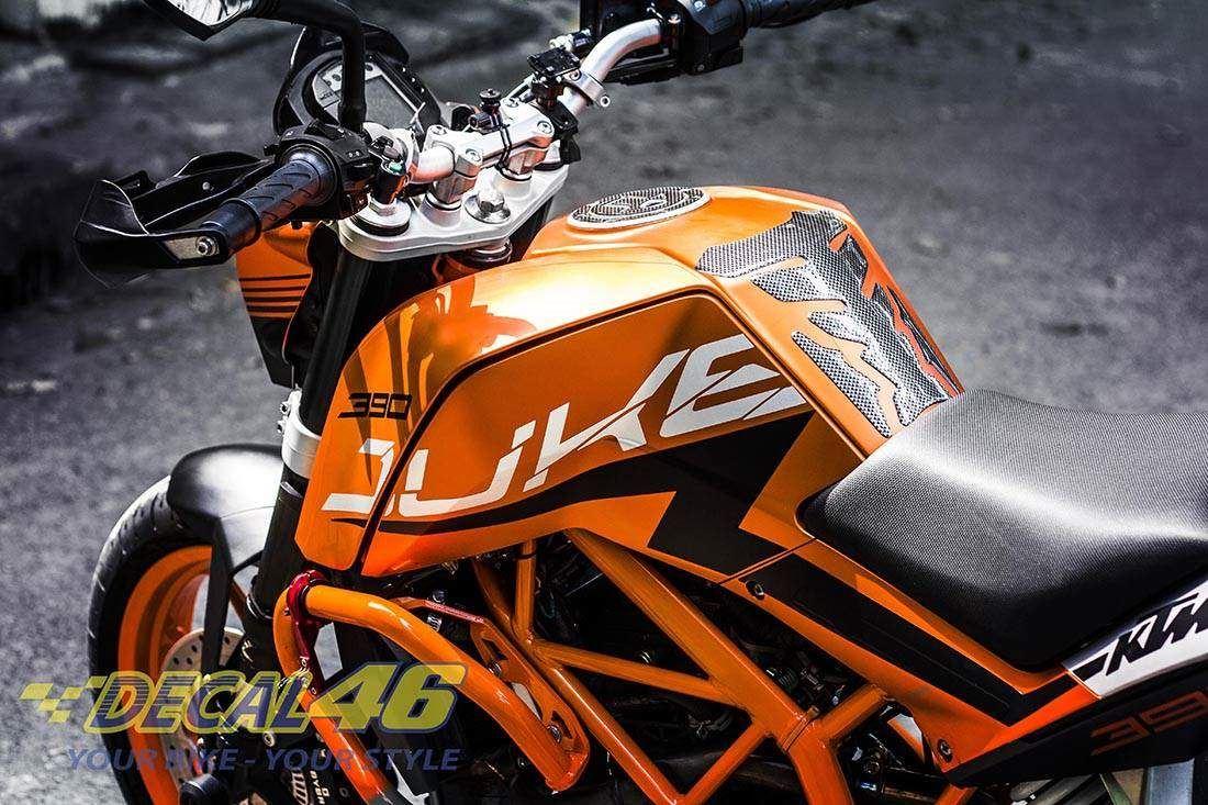 Tem xe KTM - DUKE - 3 - Tem xe thiết kế Super Duke 3