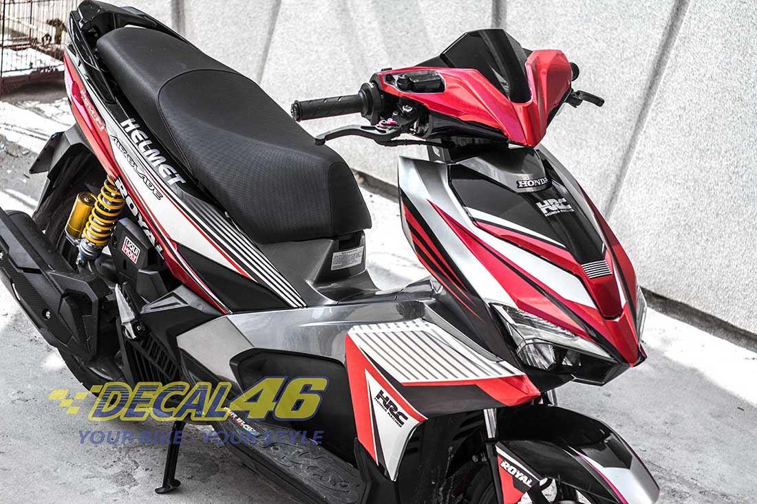 Tem xe Honda Airblade 2016 - 026 - Tem xe thiết kế HRC