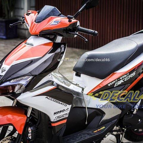 Tem xe Honda Airblade 2016 - 028 - Tem xe thiết kế Koso