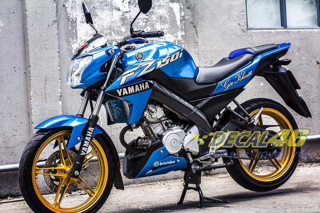 Tem xe FZ150i - 063 - Tem xe thiết kế Yamaha Racing