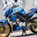 Tem xe FZ150i – 063 – Tem xe thiết kế Yamaha Racing