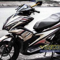 Tem xe NVX - 11 - Tem xe thiết kế Yamaha Racing