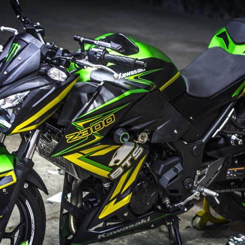 Tem xe PKL - Tem xe Z300 thiết kế Racing